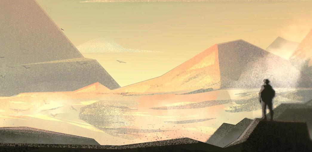 Landscape Pyramide